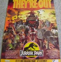 Jurassic Park 1993 Toys