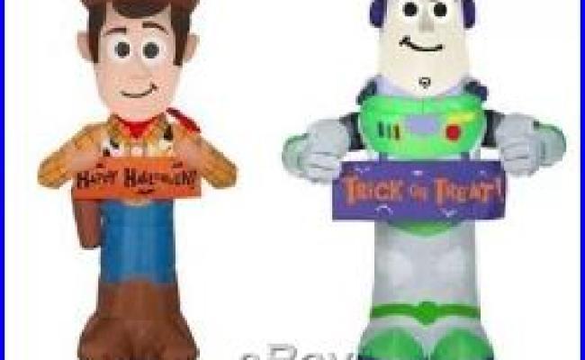 Toy Story Woody Buzz Lightyear Halloween Airblown Yard