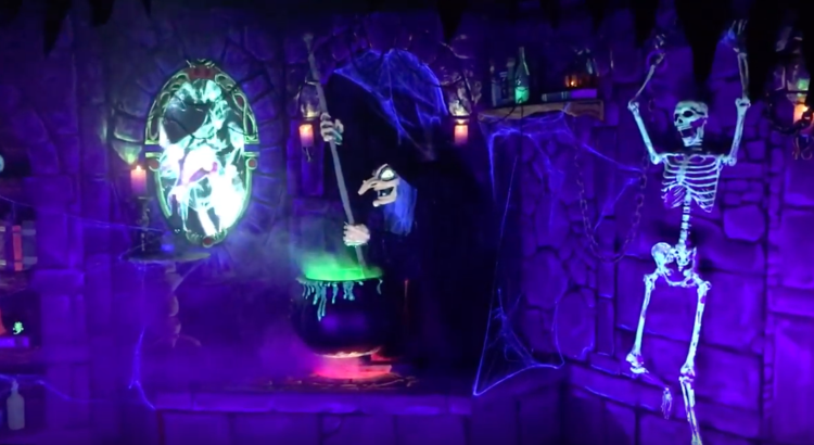 Disney Villains Halloween Display by Mike Schwalm Imagineer