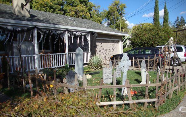 Evil Vines Cemetery Outdoor Yard Haunt Cemetery