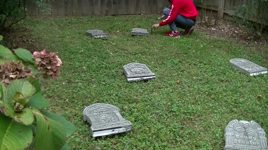 Upgrade Your Cheap Dollar Store Halloween Tombstones DIY