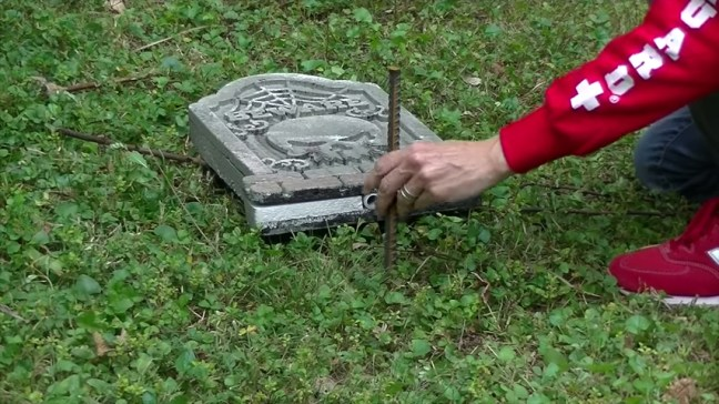 Upgrade Your Cheap Dollar Store Halloween Tombstones Ground Stakes