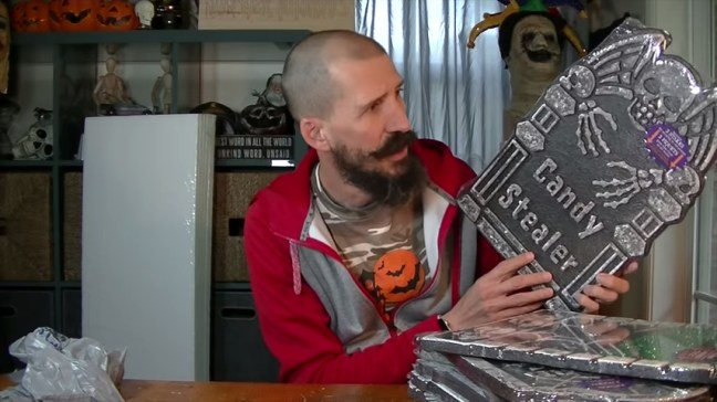 Upgrade Your Cheap Dollar Store Halloween Tombstones
