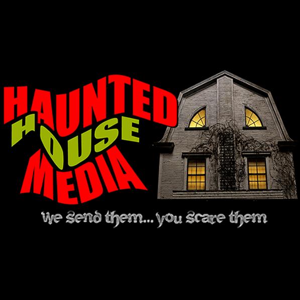 haunted house media logo