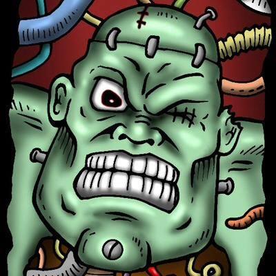 Monster Guts Prop Building Logo