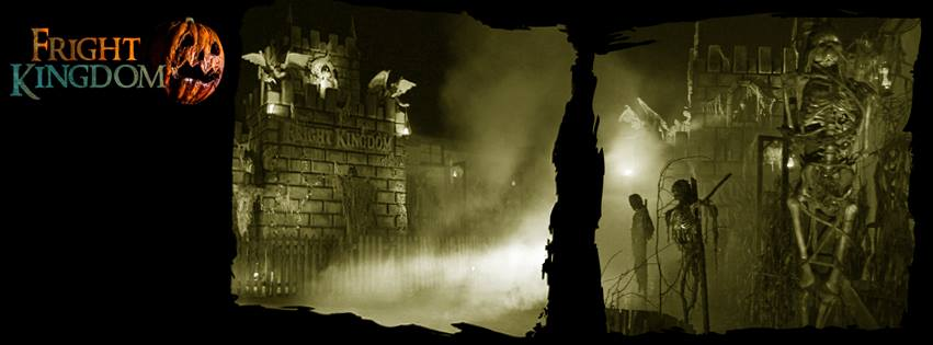 Fright Kingdom Scariest Haunted House in the US Fog Scene