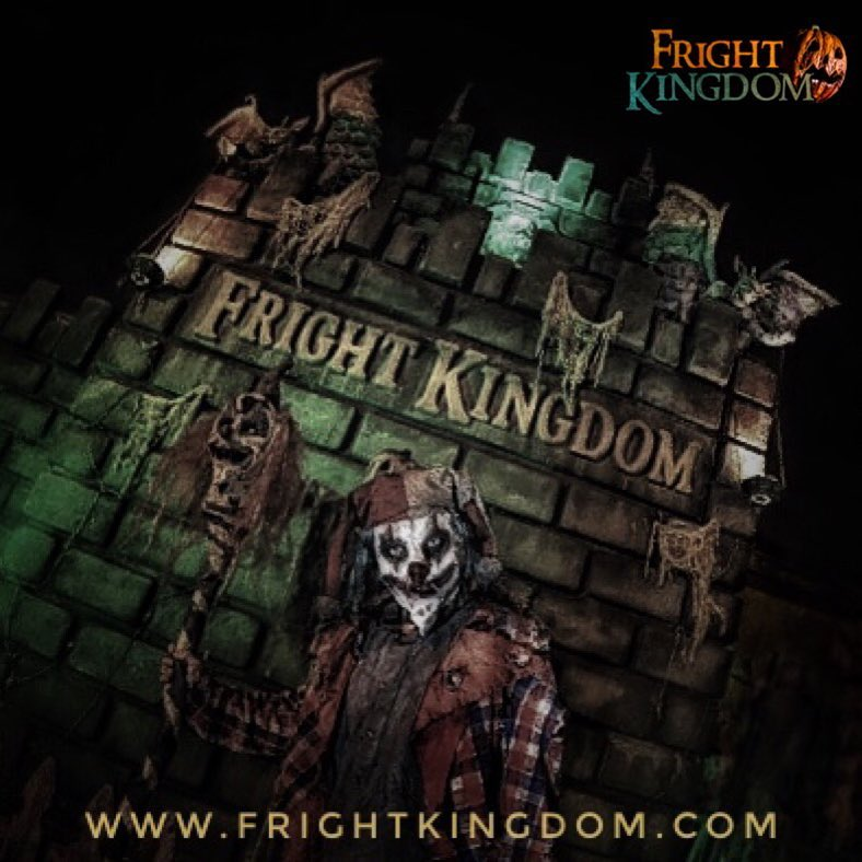 Fright Kingdom Scariest Haunted House in the US Creep Clown Actors On Set
