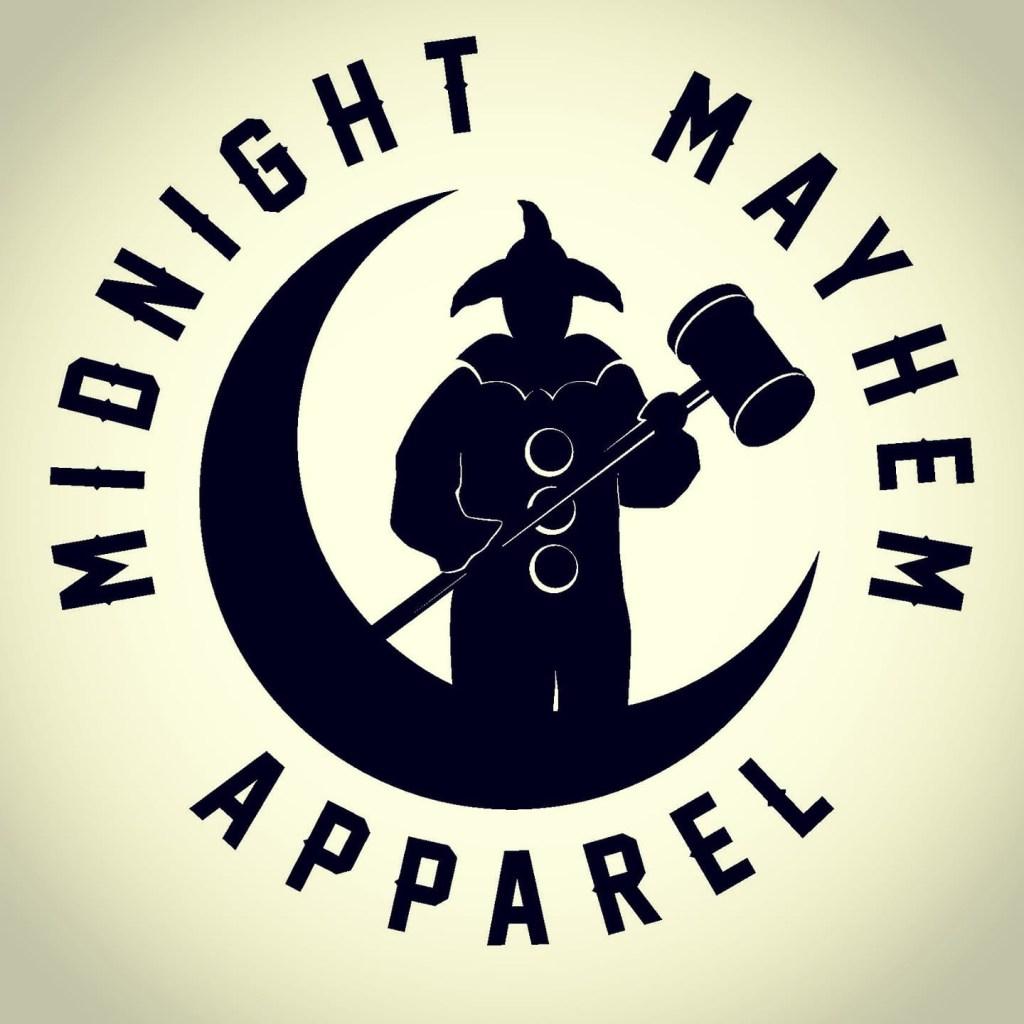 Midnight Mayhem Apparel Logo