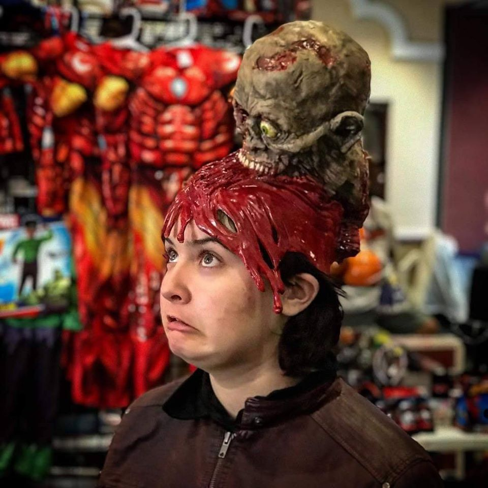 MonsterWorx Entertainment Brain Eating Hat