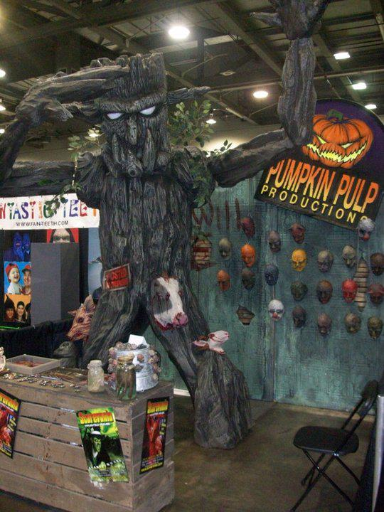 Pumpkin Pulp Expo Booth
