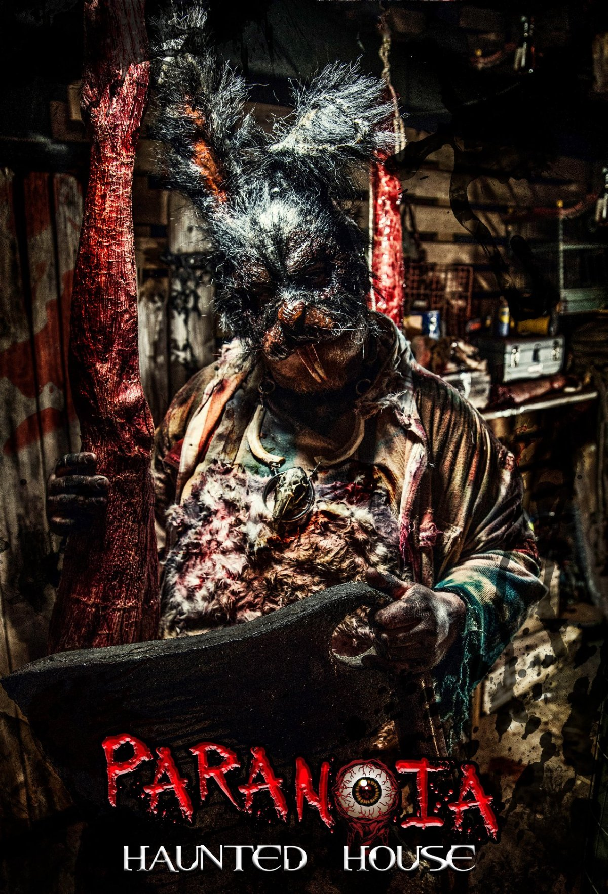Paranoia Haunted House Gruesome Live Haunt