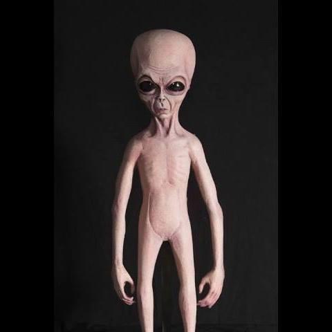 haunted props alien