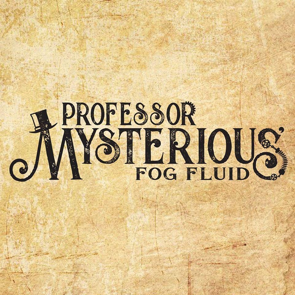 Professor Mysterious Fog Fluid Logo