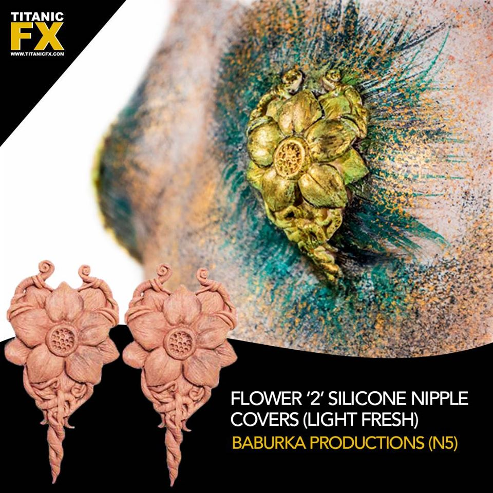 TItanic FX Special Effect Makeup Nipple Covers