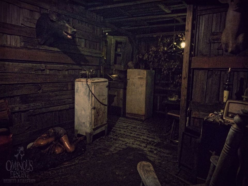 Ominous Descent Florida Scariest Haunted House Abandoned 19th Century Room Set