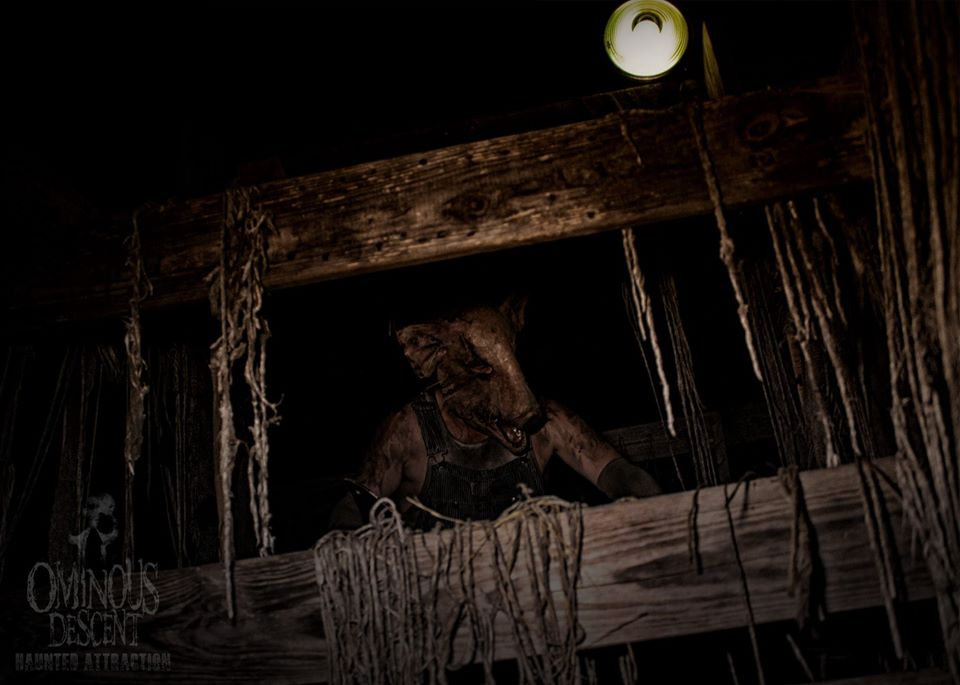 Ominous Descent Florida Scariest Haunted House