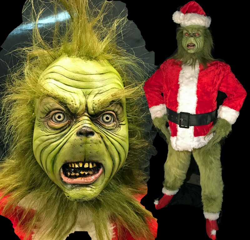 Poison Props Grinch Costume