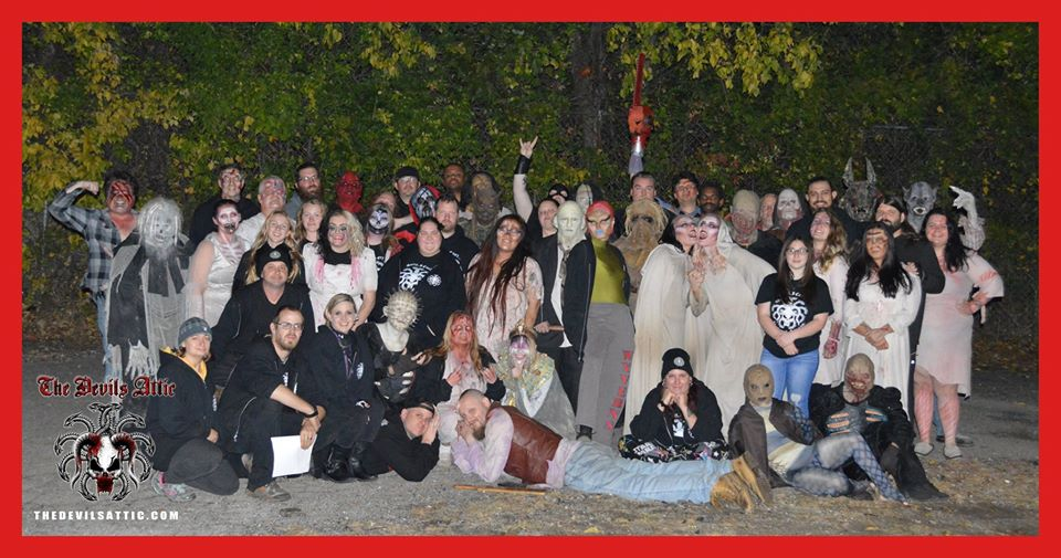 The Devils Attic Haunted House Actor Group