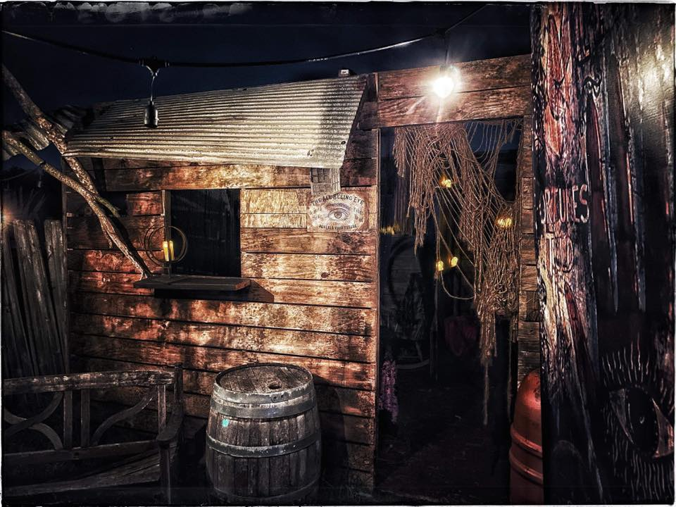 Chamber of Terror Haunted House Shack