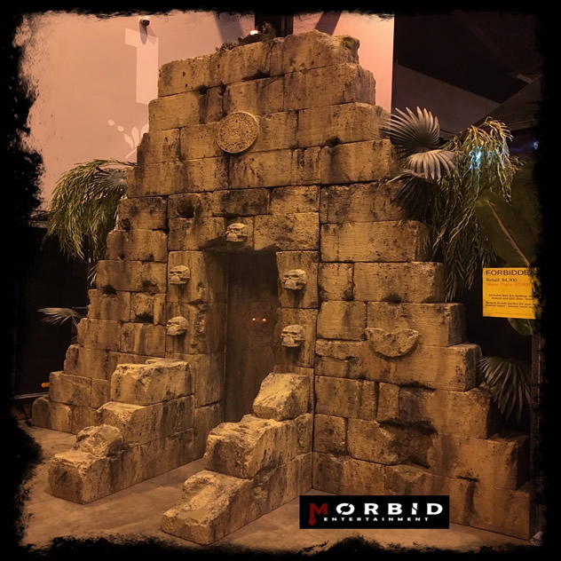 Morbid Entertainment Ancient Pyramid Set Design