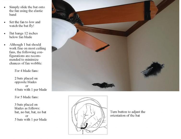 OIC Toys Ceiling Fan Bat Prop