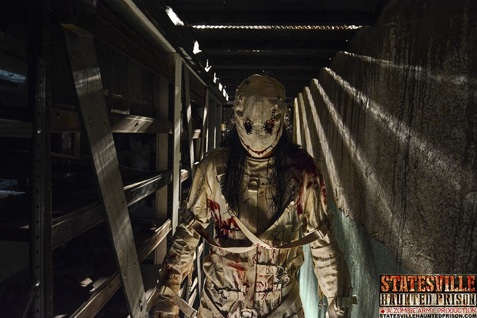 Statesville Haunted Prison Masked Creature