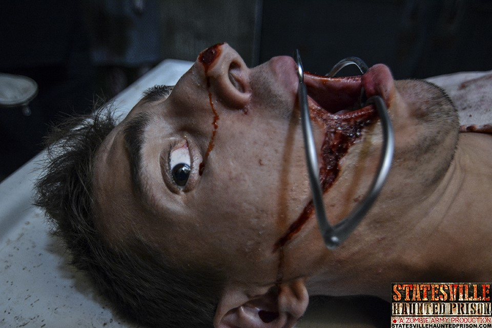 Statesville Haunted Prison Operating Table