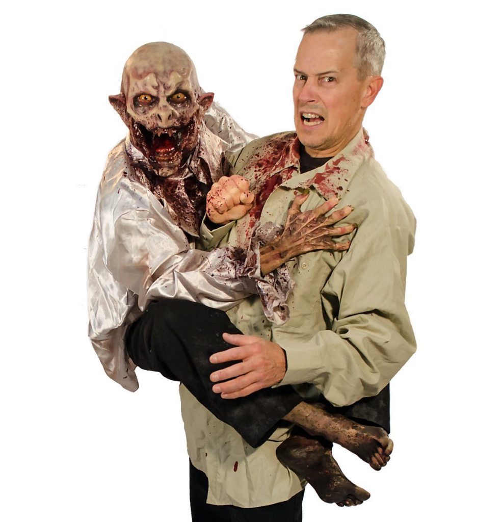 VFX Creates Zombie Attack Puppet