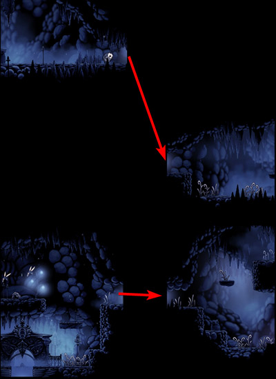 Hollow Knight Fog Canyon Map : hollow, knight, canyon, Mapping, Process, Cheap, Tricks, Hallownest.net, Interactive, Hollow, Knight