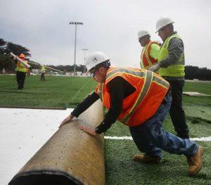 artificial grass installation subcontractors in Kansas City