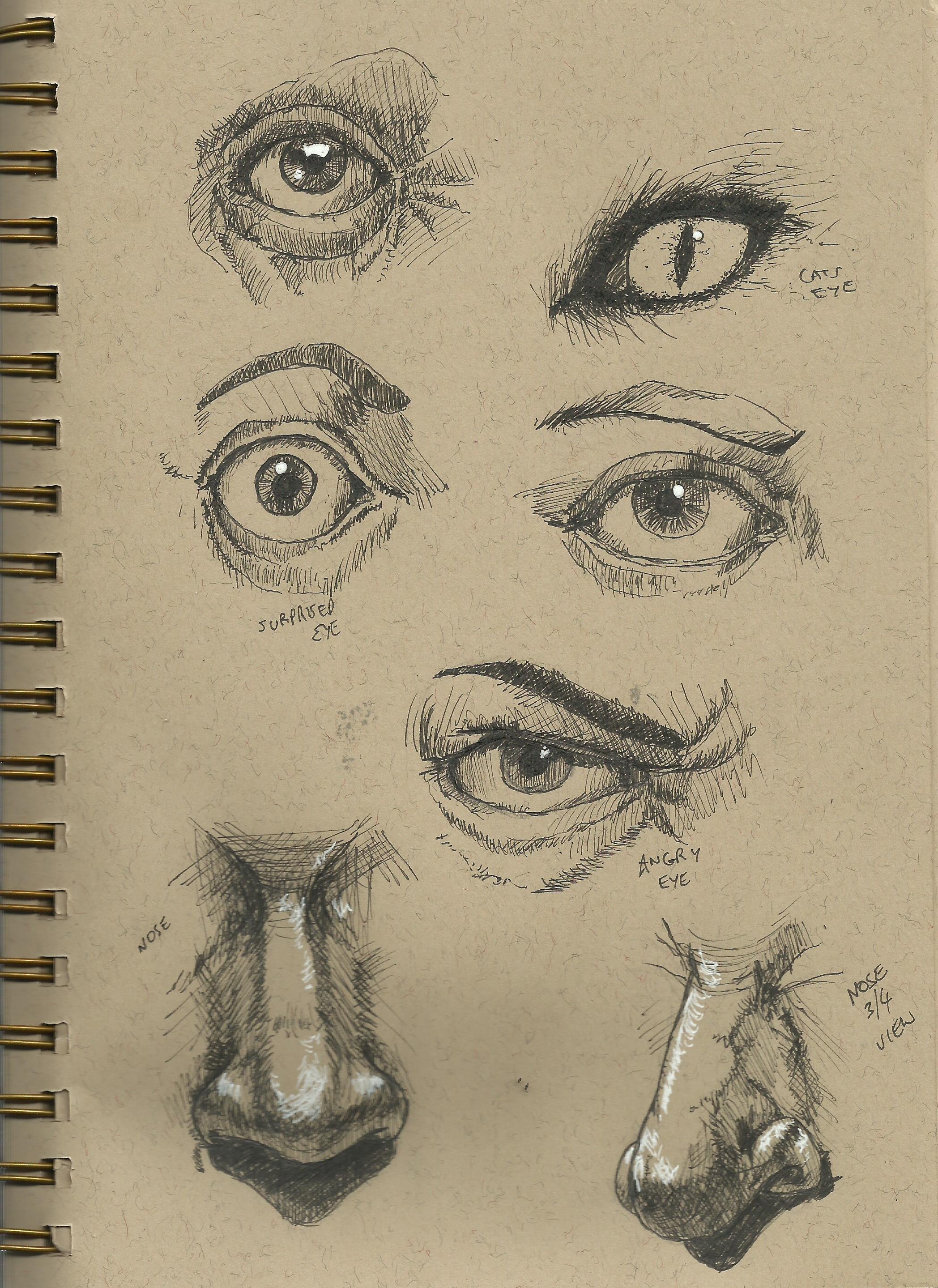 Practice and basic drawing  Hallucination Rain
