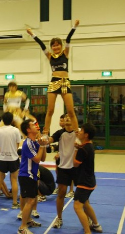 Cheerleading Tutorial AZ  HALL 5 CHEERLEADING