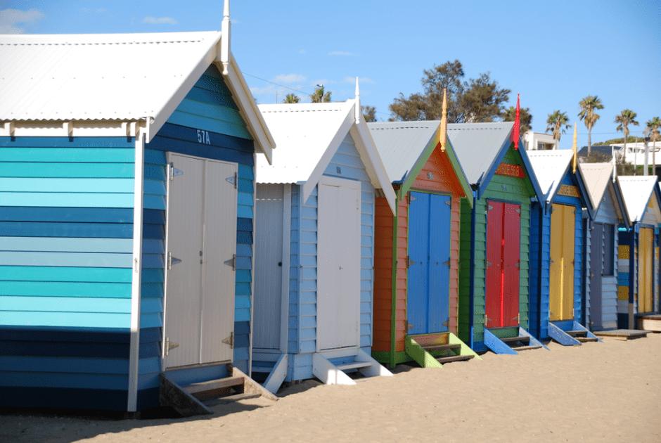 Brighton Bathing Boxes - 1