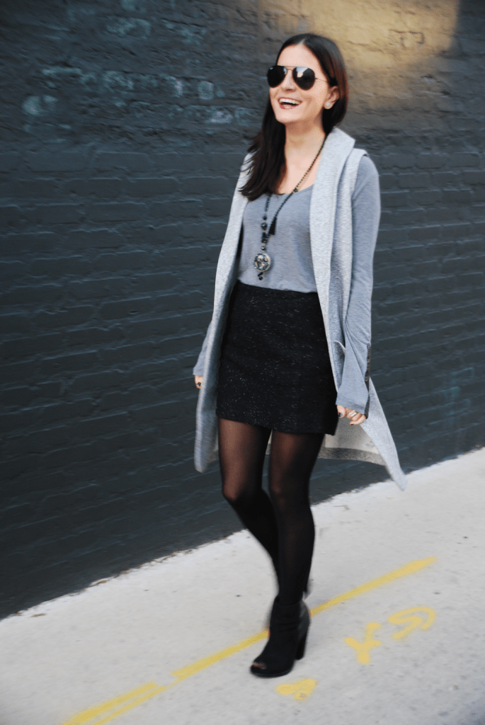 Short Skirt Long Jacket - 6