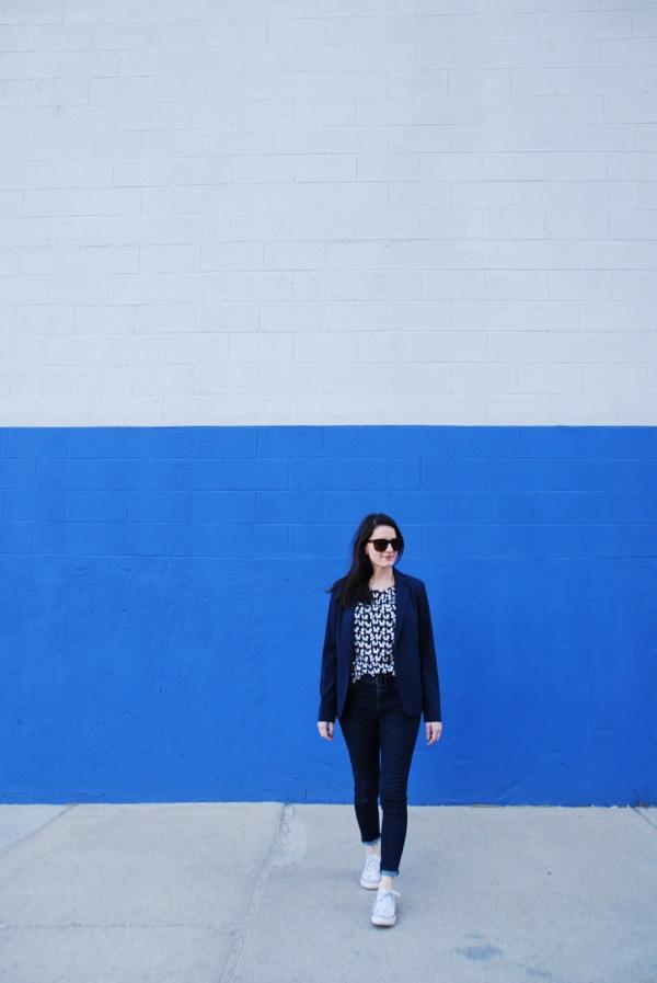 Jeans + Blazer - 2