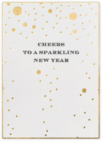 cheers to a sparkling new year