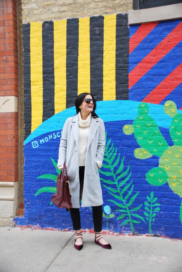 chicago blogger peggy kollias in wicker park