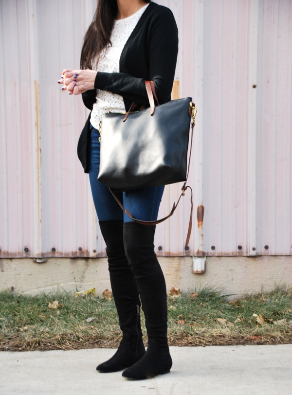 black joie over the knee boots