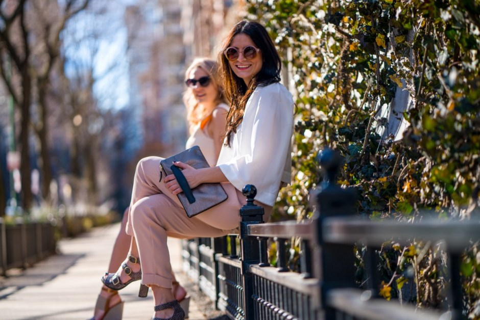 spring in the city with holly & tanager