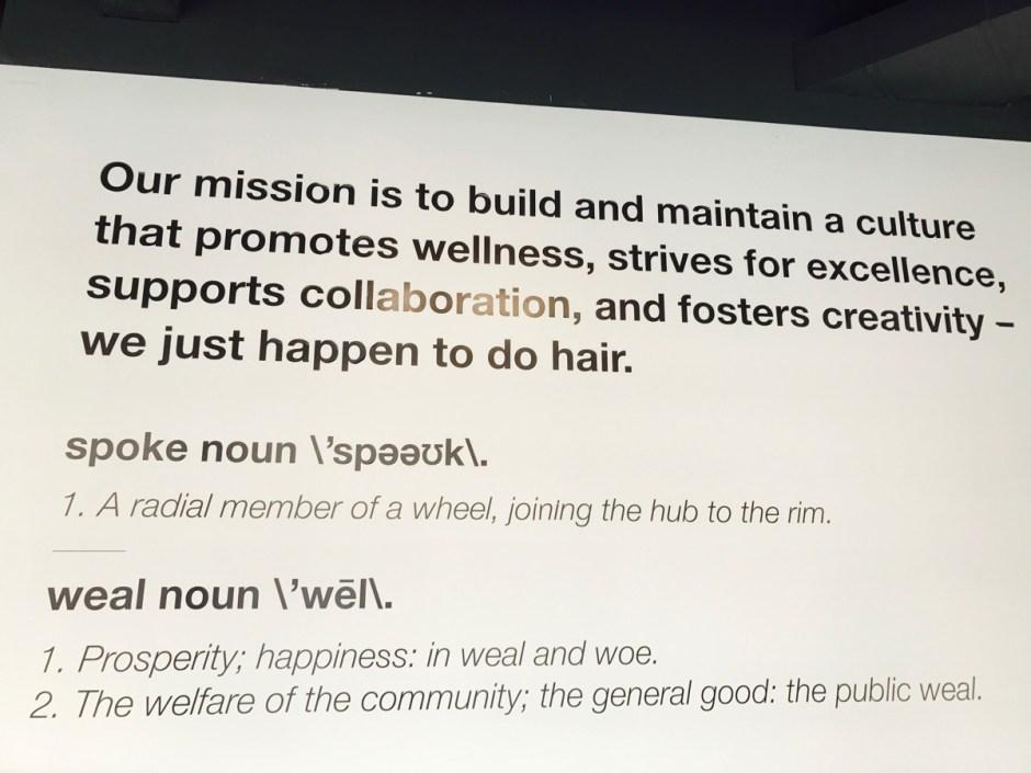 spoke & weal mission statement