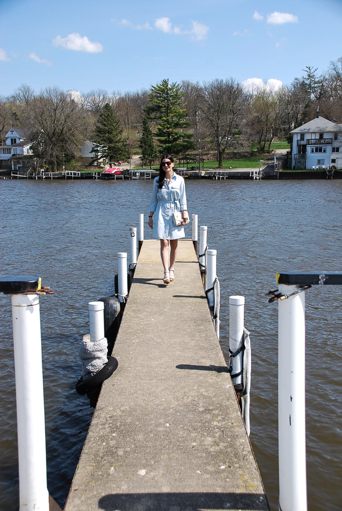 the pier is my runway