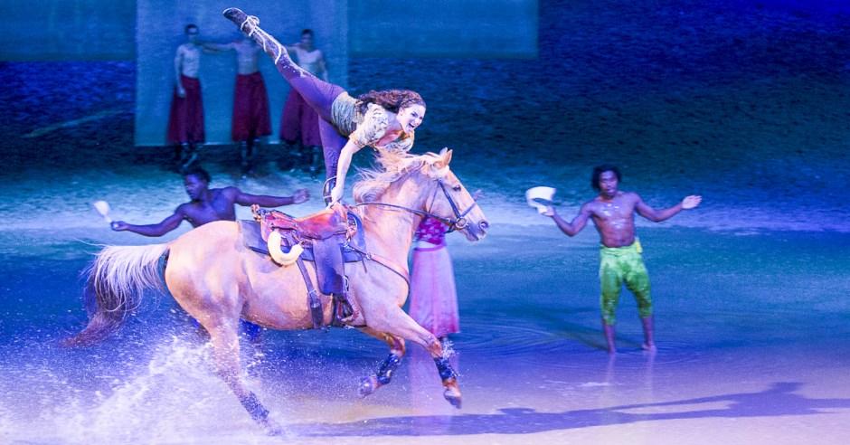 Cavalia horse performers