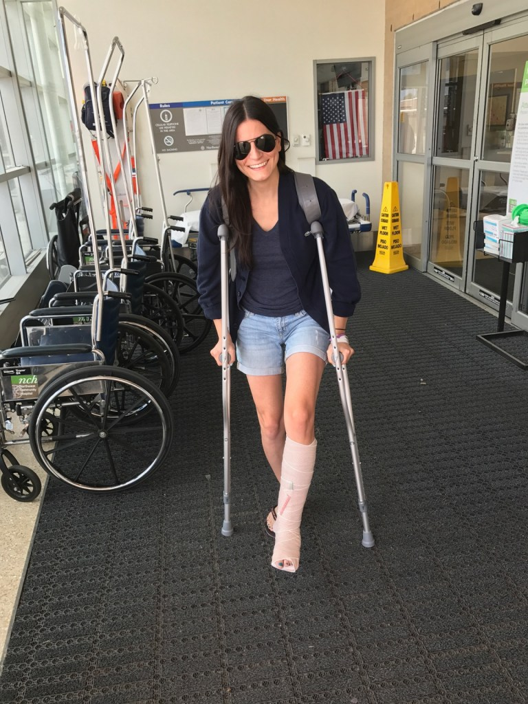 adapting to that crutch life