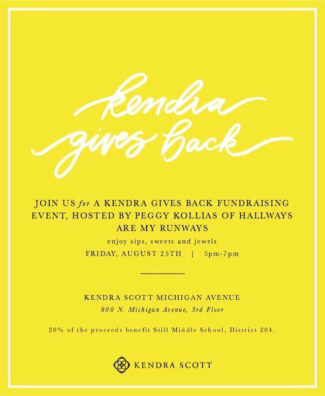 literacy fundraiser with kendra scott