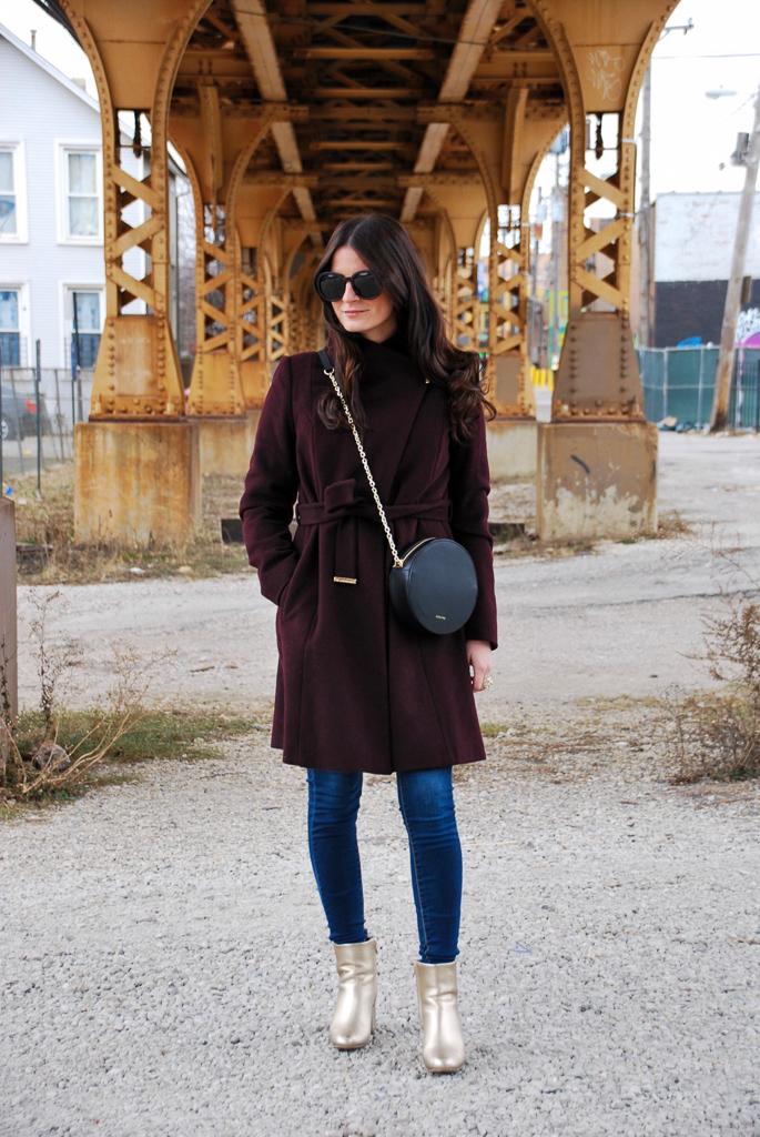 Burgundy Coat