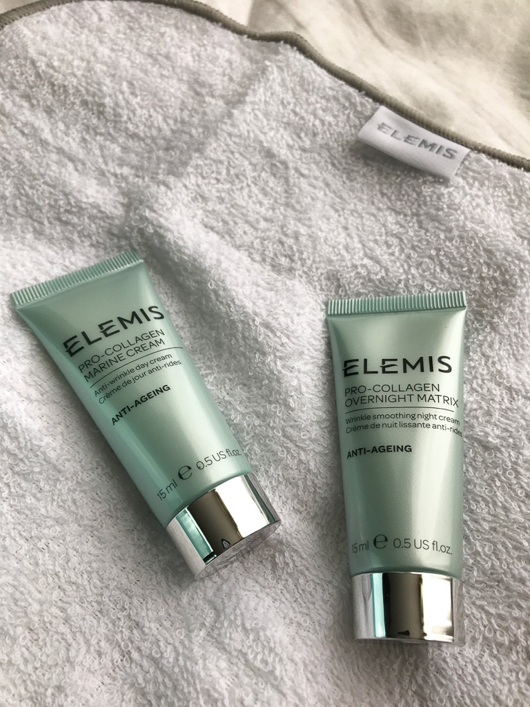 ELEMIS pro-collagen marine cream and pro-collagen overnight matrix