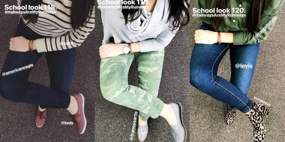 school looks 118-120