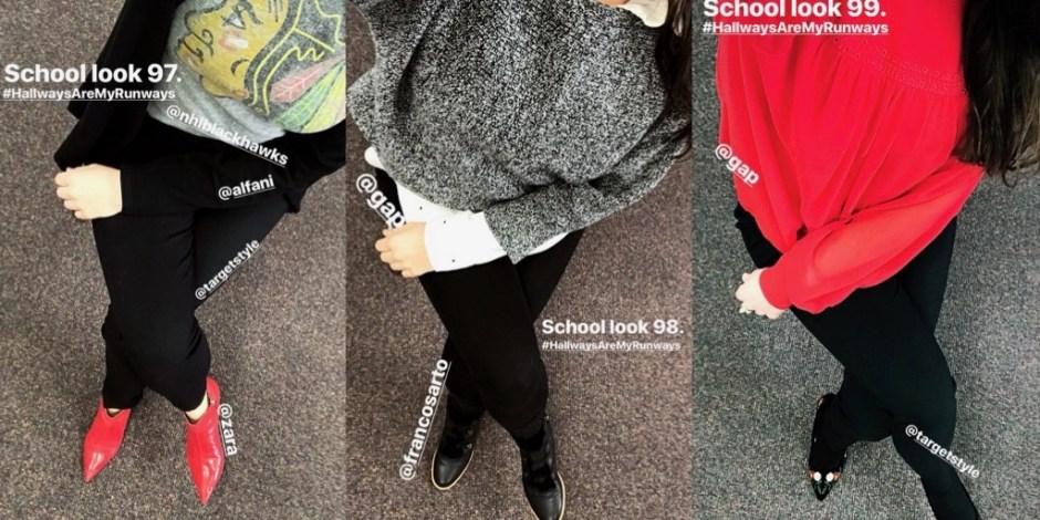 school looks 97-99