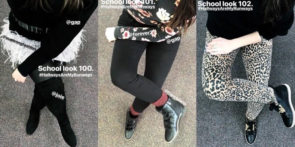 school looks 100-102