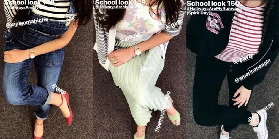 school looks 148-150
